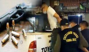 Grupo Terna captura banda de delincuente en Puente Piedra