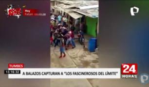 Tumbes: cae banda que cobraba cupos a ilegales en frontera