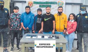 """Trujillo: tras paciente seguimiento capturan a sanguinaria banda """"Los Charlys del Mayorista"""""""