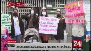 Padres piden ayuda por sus hijos con cáncer en el Hospital Neoplásicas