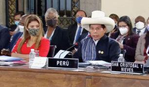 Cumbre Celac: Castillo sostuvo que su gobierno plantea hacer reformas en el marco del estado de derecho