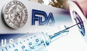 FDA recomienda tercera dosis de la vacuna para mayores de 65 años