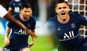 PSG venció 2-1 a Olympique Lyon por la fecha 6 de la Ligue 1