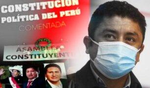 Operación Asamblea Constituyente: verdades y mentiras en la recolección de firmas de Cerrón