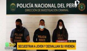 Carabayllo: detienen a sujetos que intentaron robar vivienda y secuestrar a joven