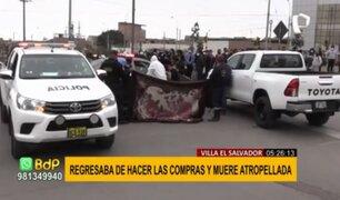 Mujer atropellada en SJM: conductor aparentemente ebrio intentó darse a la fuga