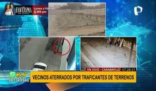 Carabayllo: traficantes de terrenos detonan granada en la puerta de una vivienda