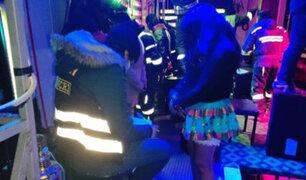 Puno: rescatan a decenas de mujeres que eran obligadas a trabajar en un local nocturno