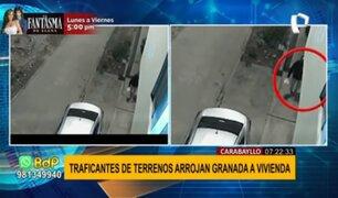 Detonan granada en Carabayllo: vecinos atemorizados por traficantes de terrenos