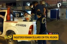 Grupo Terna detiene a ladrones de celulares de Breña y Ate