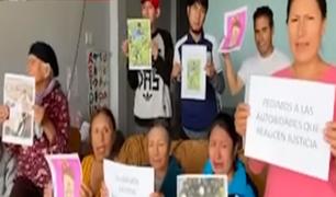 Cieneguilla: familiares de taxista que fue descuartizado exigen justicia