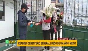 Cementerio general de Huancayo reabre: ¿Qué protocolos deberán seguir los visitantes?