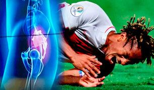 ¿Carrillo podrá jugar en la Selección tras lesión de espalda? especialista explica su situación