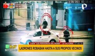 """""""Los perversos del rioba"""": ladrones robaban hasta a sus propios vecinos"""