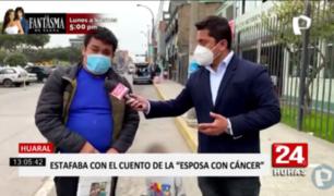 Huaral: detienen a sujeto que engañaba con 'cuento' de esposa con cáncer