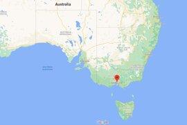 Terremoto superficial de magnitud 5.9 sacudió el sureste de Australia