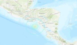 Nicaragua: Sismo de 6.5 grados se registró frente a la costa oeste