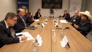 BM señala necesidad de reforma tributaria tras reunión con Castillo