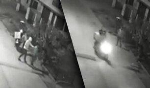 Delincuentes roban moto lineal de repartidor por delivery