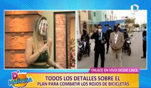 El sorpresivo coqueteo de Grasse Becerra a reportero durante transmisión en vivo