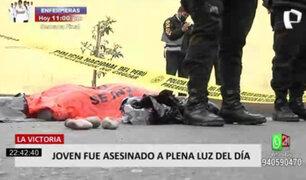 La Victoria:  joven falleció tras ser baleado en extrañas circunstancias