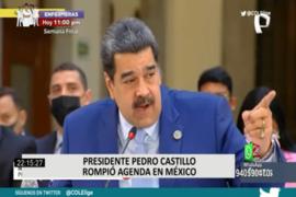 Pedro Castillo se reunió en secreto con Nicolás Maduro