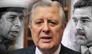 Óscar Maúrtua deberá explicar reunión entre Castillo y Maduro ante la Comisión de Relaciones Exteriores