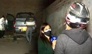"""Recuperan dos camionetas """"Hilux"""" robadas en Carabayllo"""