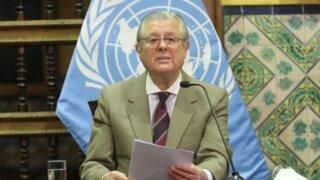 Canciller Maúrtua: Perú tiene política exterior respetuosa de DDHH