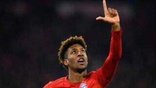 Kingsley Coman vuelve a entrenar con el Bayern tras operarse del corazón