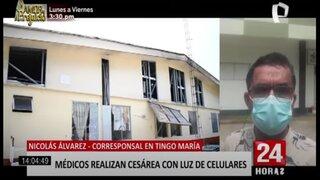 Tingo María: denuncian pésimo estado del Hospital de Contingencia
