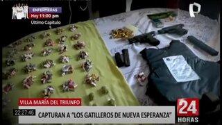 """VMT: capturan a """"Los Gatilleros de Nueva Esperanza"""""""