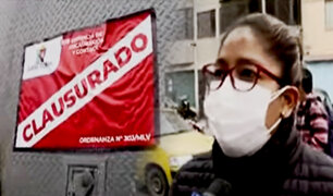 Comerciantes denuncian abuso de autoridad de la Municipalidad de La Victoria