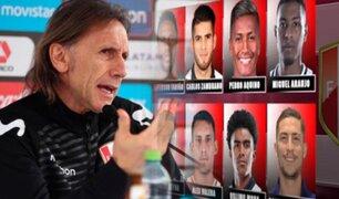Ricardo Gareca: esta es la baraja del 'Tigre' para próxima fecha de Eliminatorias
