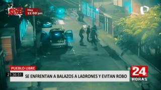Pueblo Libre: vecinos frustraron intento de asalto