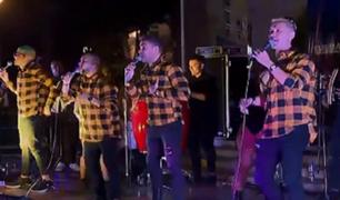 Primer concierto presencial de salsa en el Circuito Mágico del Agua