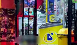 SJL: sicarios asesinan de 8 balazos a hombre dentro de una bodega