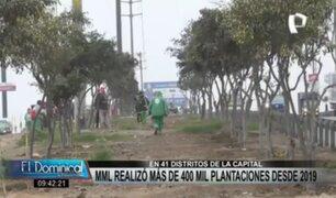 """""""Árboles para Lima"""": Serpar plantó más de dos mil molles costeros en SJM"""