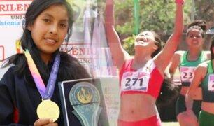 Orgullo Peruano: Anita Poma se consagra campeona sudamericana de atletismo