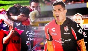 Anderson Santamaría anotó para el Atlas por la fecha 10 de la Liga MX