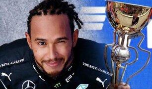 Lewis Hamilton llegó a las 100 victorias tras ganar el GP de Rusia