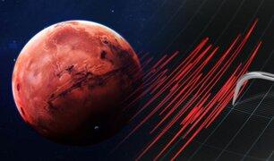 La NASA registró un terremoto que casi una hora y media en Marte