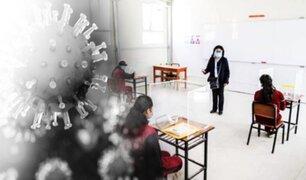 No se han reportado casos de COVID en los 6,873 colegios reabiertos, asegura Minedu