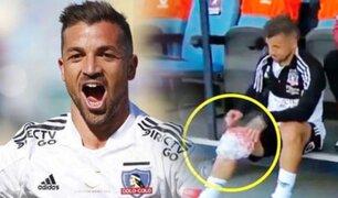 ¡Alerta en la Videna! Gabriel Costa salió lesionado en triunfo de Colo Colo