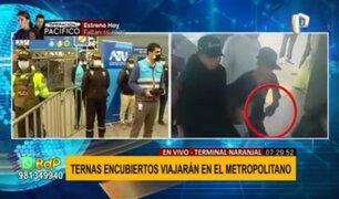 Metropolitano: Agentes Terna encubiertos resguardarán estaciones para evitar robos