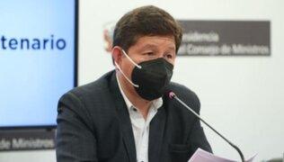 Comisión de Ética aprobó investigar a Guido Bellido por presunta agresión verbal a Patricia Chirinos
