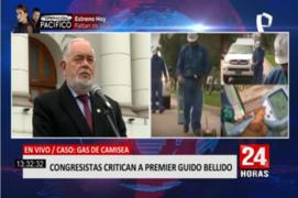 Congreso: critican a premier Guido Bellido por amenaza sobre nacionalizar el gas de Camisea