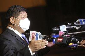 """Ministro Walter Ayala: """"La lucha contra el narcotráfico y el terrorismo es de manera directa"""""""