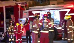 San Isidro: cuatro unidades de Bomberos atendieron emergencia en el distrito