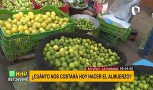 Mercado La Parada: así están los precios de diversos alimentos hoy martes 28